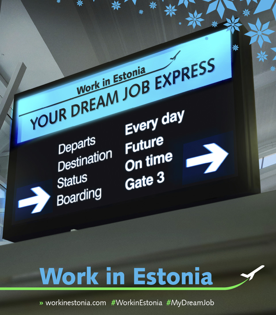 Job Offers - Work in Estonia
