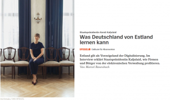 der spiegel president kaljulaid career hunt work technology